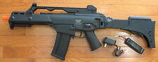 Great Quality JG G36C G608 Metal Gearbox Electric Airsoft Gun w/Extendable Stock