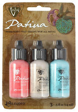 Patina Paint Metal Paint for Jewelry Vintaj Patina French Riviera NEW RELEASE