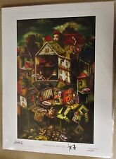 "NEW Alice Madness Returns ""The Doll House"" Signed Auto Lithograph Print ?/500"
