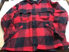 Vintage Woolrich Buffalo plaid Jacket mens L coat wool lumberjack hunting NICE