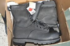 Canadian Army STEEL TOE Temperate Safety Combat Boots Men's 7.5 XW 245/104 Terra