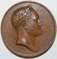 Tsar alexandre i sejour à paris médaille - 1814