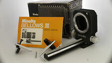 Minolta Bellow III - Macro Photographers