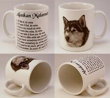 Alaskan Malamute Personalised Gift Idea, funny laws, Birthday Christmas Present