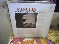 MENUHIN An Audiobiography In Music vinyl LP Angel Records EX