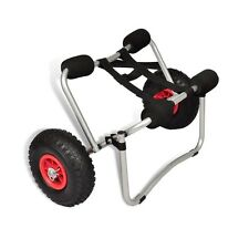 Aluminum Kayak Canoe Boat Trolley Carrier Dolly Transport Cart With Strap 70KG