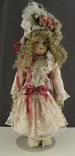 "PATRICIA LOVELESS 20"" CHANTILLY ANTIQUE REPRODUCTION PORCELAIN ARTIST DOLL"