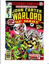 John Carter, Warlord of Mars 1 (1977): FREE to combine: in Very Fine-  condition