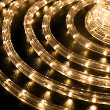 """LED Rope Light 1/2"""" Thick PRE-ASSEMBLED Christmas Lighting 10' 25' 50' 100' 150'"""