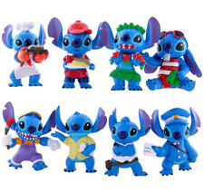 8 Lilo & Stitch Costume Action Figures Kids Figurines Doll Toy Cake Topper Decor