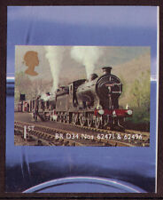 GREAT BRITAIN 2012 CLASSIC LOCOMOTIVES OF SCOTLAND SELF/AD.UNMOUNTED MINT, MNH