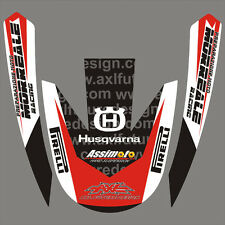 Kit Husqvarna parafango TE - WR  2011 - crystal/adesivi/adhesives/stickers/decal