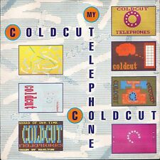 "COLDCUT my telephone/theme from evil eddy CCUT 6 uk big life 7"" PS EX/EX"