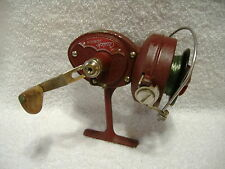 Vintage Dam Quick Junior Spinning Fishing Reel Made In Germany Works