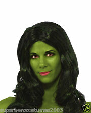 Avengers She-Hulk Costume Wig Adult Womens Marvel Comics Brand New Rubies 52929