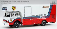 Exoto 1/43 Ford 1976 C Type Race Car Transporter Martini Porsche EXO00014