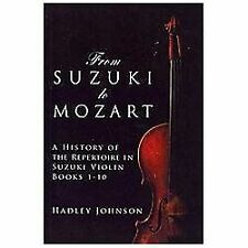 From Suzuki to Mozart : A History of the Repertoire in Suzuki Violin Books...