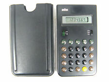 Vintage BRAUN design calculator ET 33  4 993 Taschenrechner  working condition