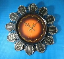 Vintage Russian wall Clock Yantar Soviet electromechanical USSR quality sign