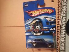 69 dodge charger hot wheels muscle mania 2005 1/64