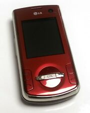 LG KF310 Wine Red,Carrier Unlocked Triband,Camera,Bluetooth Gsm Slider Cellphone