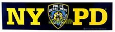 LICENSED NYPD NEW YORK POLICE CLASSIC BUMPER STICKER DECALS SOUVENIR