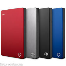 1 TB Seagate 1 TB Backup Plus Slim Portable External HDD USB 3.0 *