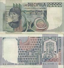 """10.000 LIRE""""BUSTO D'UOMO  DEL CASTAGNO"""" DEC. 29 DICEMBRE 1978"""