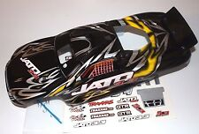 Traxxas 3.3 Jato Black Black Yellow ProGraphix Factory Painted Body Decals 55 77