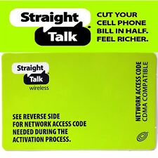 Straight Talk CDMA Network Access Code For Verizon & Sprint Phones