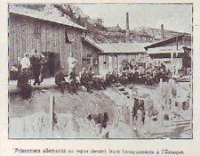 1916  - L ESTAQUE  PRISONNIERS ALLEMANDS AU REPOS  R138