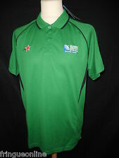 Maillot de rugby WORLD CUP 2011 vert CANTERBURY Taille L neuf !!