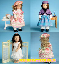 SEWING PATTERN! MAKE DOLL CLOTHES!  FITS AMERICAN GIRL ADDY`SAMANTHA! VICTORIAN