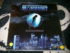 "Bloodfist VII Manhunt Letterbox Laserdisc Don ""The Dragon"" Wilson Free Ship $30"