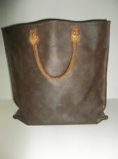 Vintage Louis Vuitton Sac Plat Monogram Shopping Bag Pre Serial #