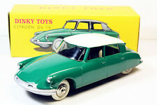 1/43 DINKY TOYS 24CP 24C Citroen DS 19 Green Editions Atlas
