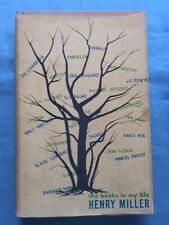 THE BOOKS IN MY LIFE - FIRST EDITION BY HENRY MILLER