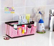 Folding Multifunction Makeup Cosmetic Storage Box Container Case Organizer 1