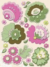 K & Company 553873 Amy Butler Belle Felt Flowers Stickers N XS