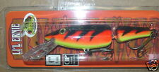 """6"""" Jointed Lil' Ernie Little Ernie Musky Mania Pike Crankbait Firebelly JLE-53"""