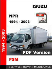 ISUZU NPR TRUCK 1994 - 2003 ULTIMATE OEM FACTORY SERVICE REPAIR WORKSHOP MANUAL