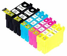 8 Refilled 127 T1271-T1274 Ink for Epson WorkForce 60 545 630 633 635 645