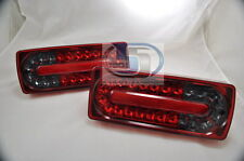Mercedes G Class W463 G500 G55 WAGON Tail Light Covers LED NEW STYLE RED/SMOKE L