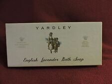 "3 Bars Yardley London ""English Lavender"" Bath Soap"