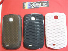 3X COVER SILICONE+HARD per SAMSUNG GALAXY NEXT TURBO GT S5570 S5570I NERO BIANCO