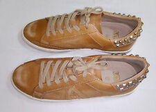 Ash ( Limited by Ash )Tan Leather Trainers with studs Sneakers Size 42 UK 8 NWoT
