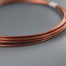 Artistic Wire Bare Copper 12 gauge 10 feet 41437 Round Shiny