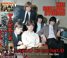 """The Rolling Stones THE LEGEND OF EMERALD COMPLETE STUDIO SESSIONS """"5CD"""" 1961-66"""
