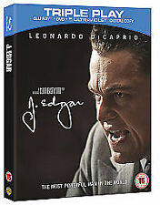 J. Edgar - Triple Play (Blu-ray + DVD + UV Copy), 2012, New And Sealed