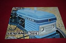 Leyland Nuffield 384 Tractor Dealer's Brochure YABE11 Ver82